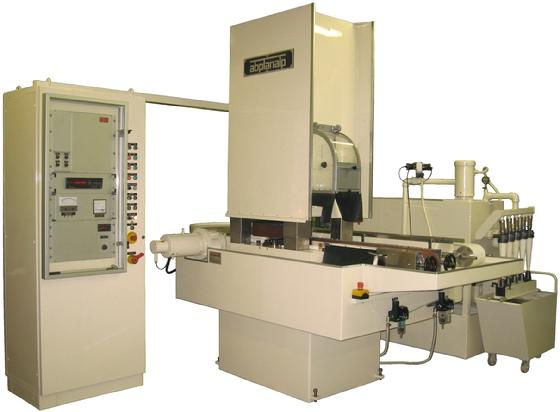 ABPLANALP , Ces 1-150-4S ; High-Production Continuous Flow Surface Grinder